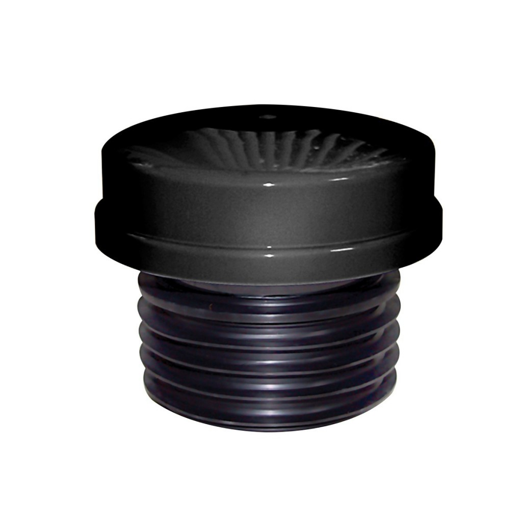 """Black 2 in 1 Air Admittance valve 4"""" push fit"""