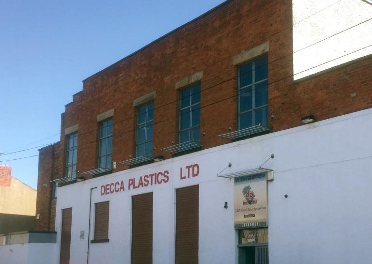 Decca Plastics Building